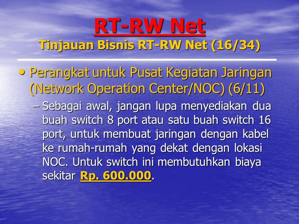 RT-RW Net Tinjauan Bisnis RT-RW Net (16/34)