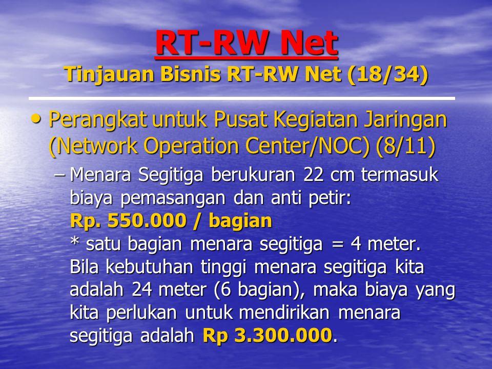 RT-RW Net Tinjauan Bisnis RT-RW Net (18/34)