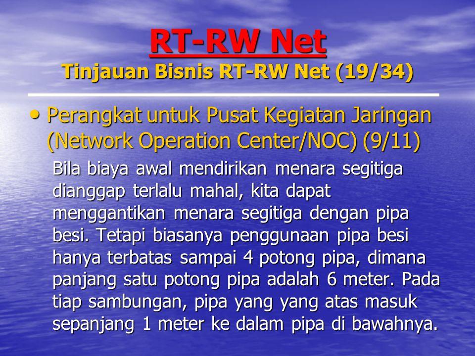 RT-RW Net Tinjauan Bisnis RT-RW Net (19/34)