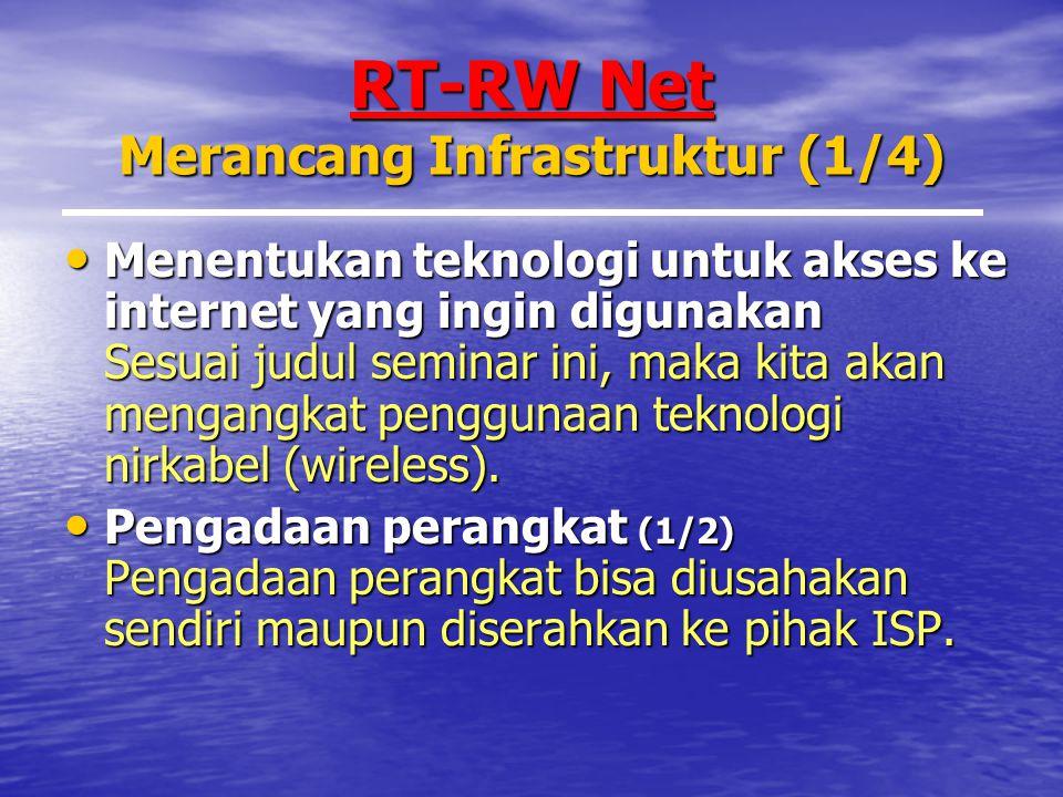 RT-RW Net Merancang Infrastruktur (1/4)