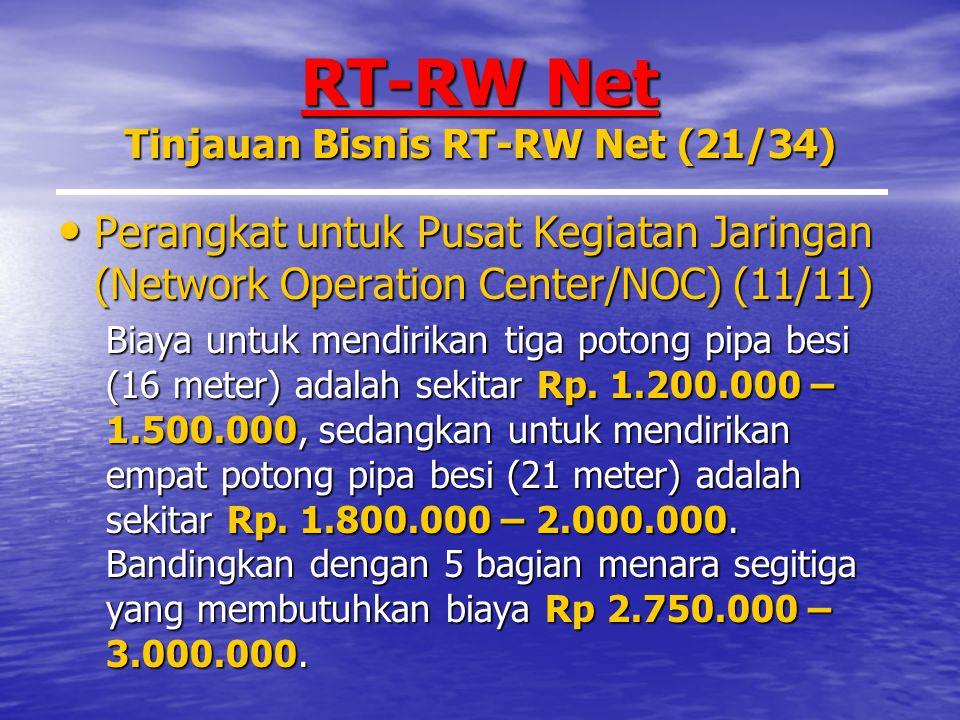 RT-RW Net Tinjauan Bisnis RT-RW Net (21/34)