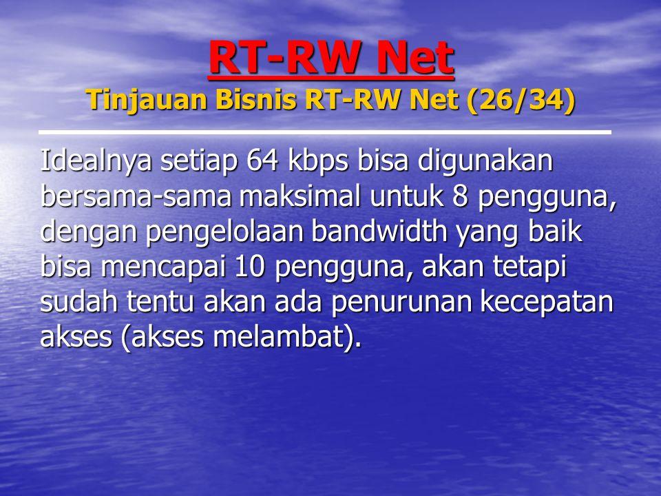 RT-RW Net Tinjauan Bisnis RT-RW Net (26/34)
