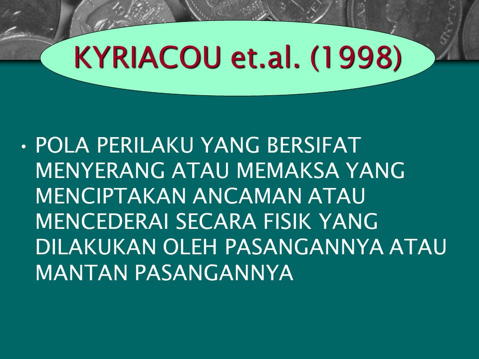 KYRIACOU et.al. (1998)