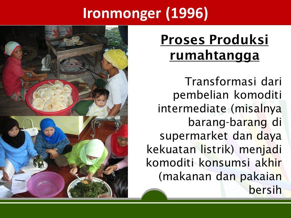 Proses Produksi rumahtangga