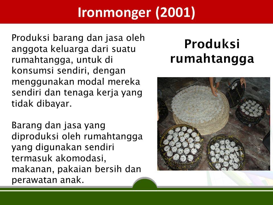 Ironmonger (2001) Produksi rumahtangga