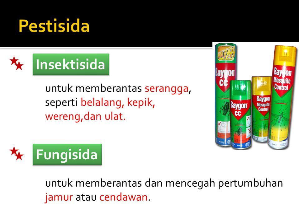 Pestisida Insektisida Fungisida