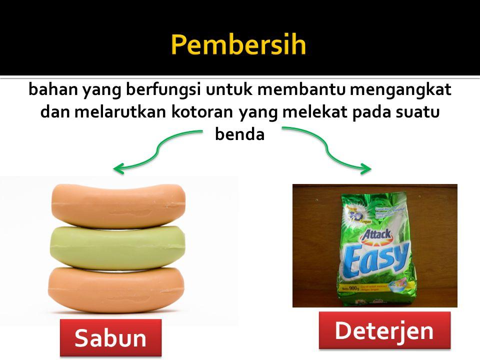 Pembersih Deterjen Sabun