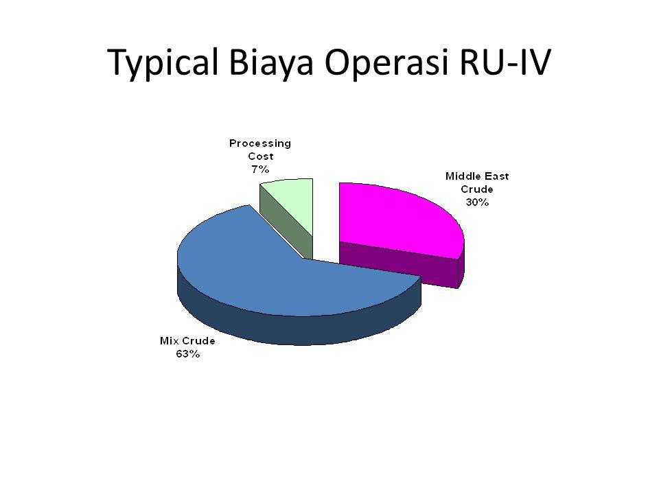 Typical Biaya Operasi RU-IV