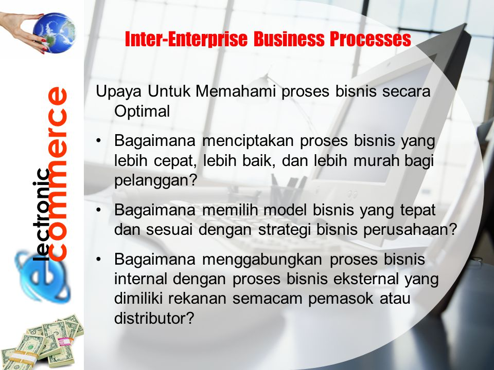 commerce lectronic Inter-Enterprise Business Processes