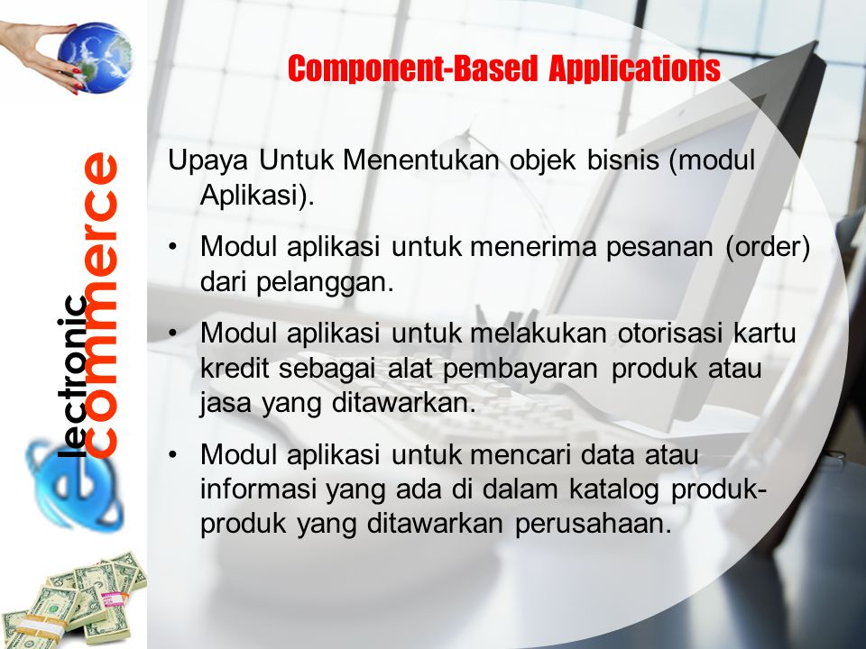 commerce lectronic Component-Based Applications