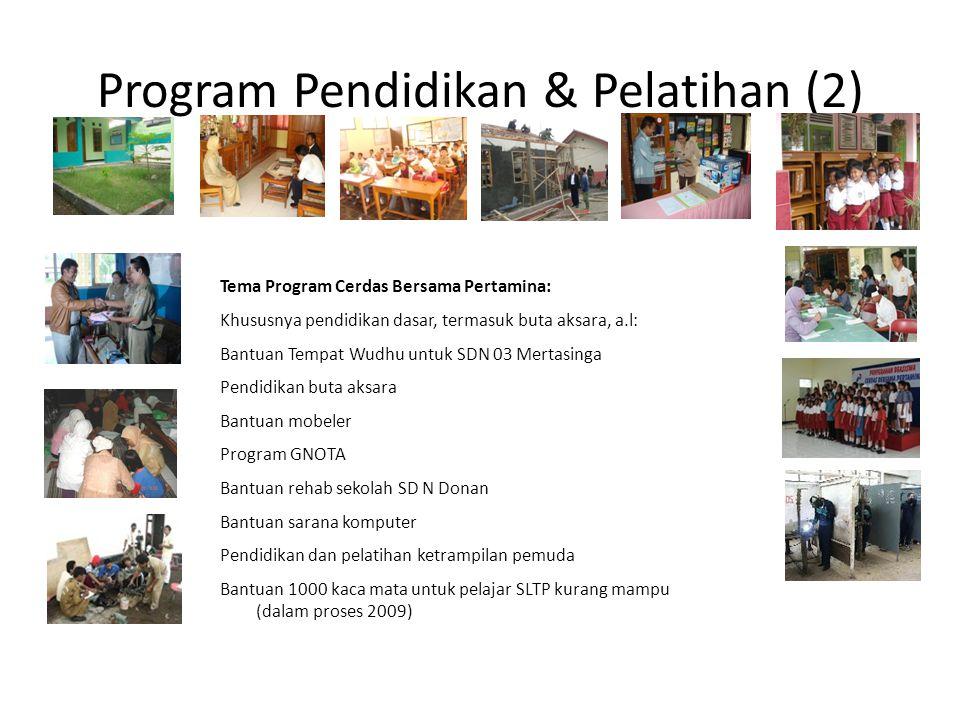 Program Pendidikan & Pelatihan (2)