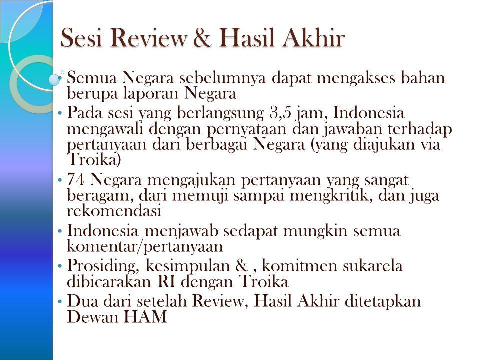 Sesi Review & Hasil Akhir
