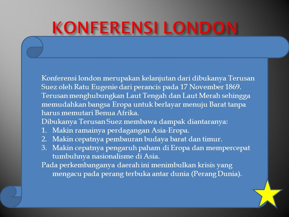 KONFERENSI LONDON