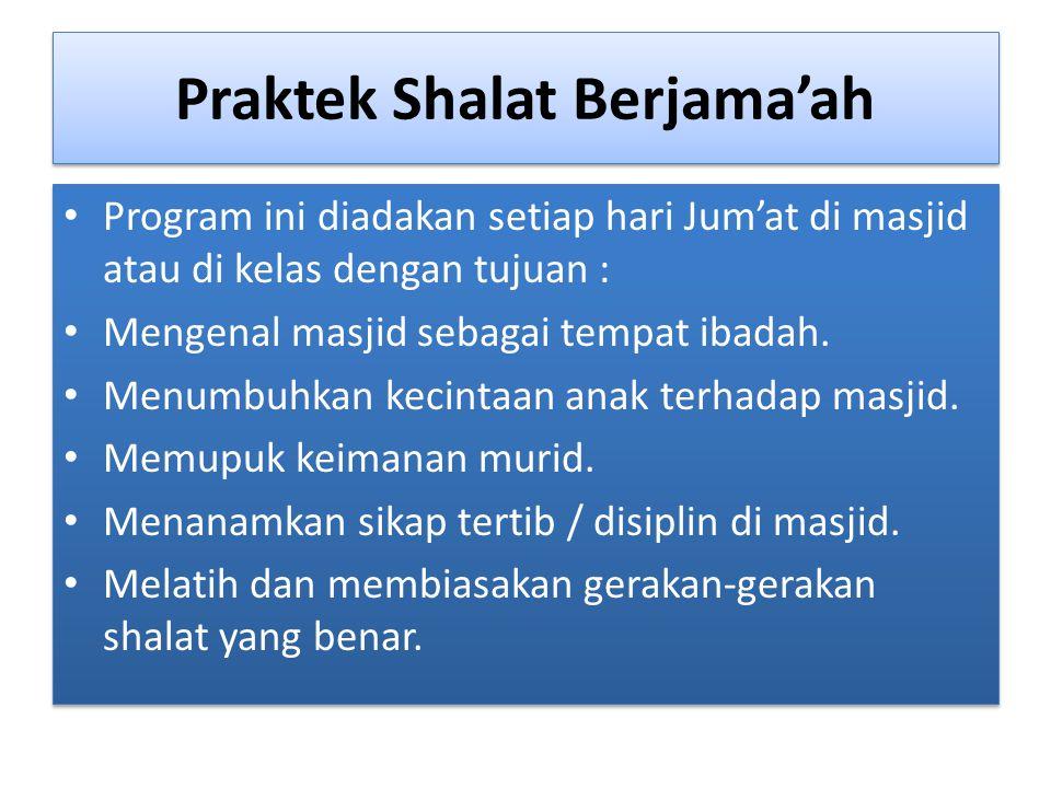 Praktek Shalat Berjama'ah