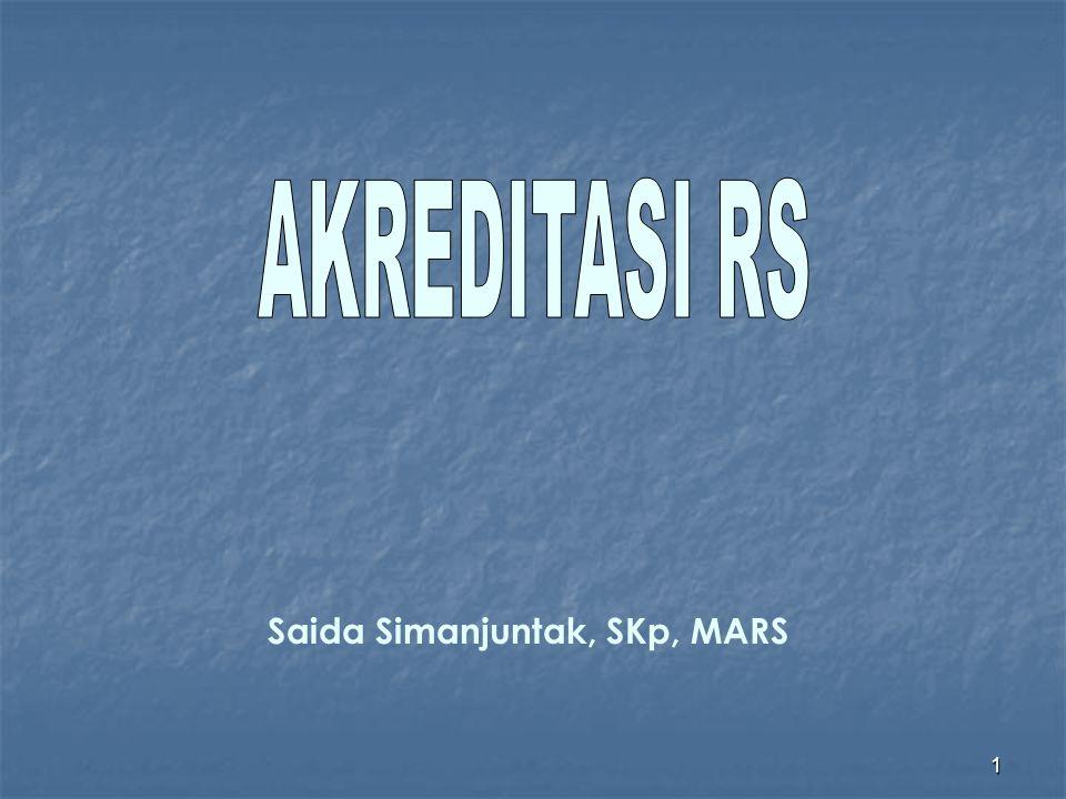 Saida Simanjuntak, SKp, MARS