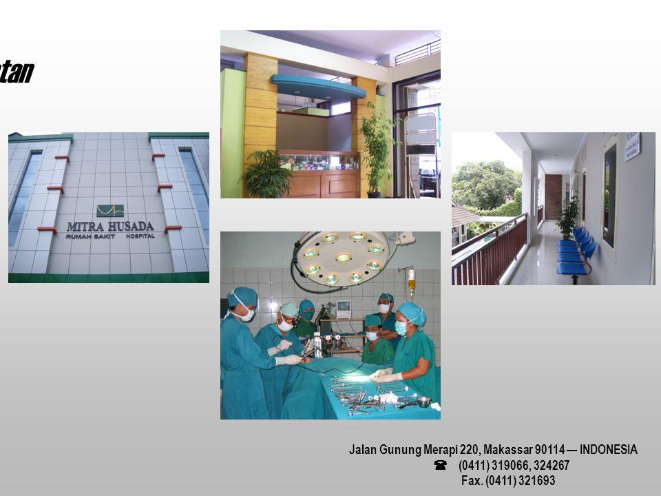 Jalan Gunung Merapi 220, Makassar 90114 — INDONESIA