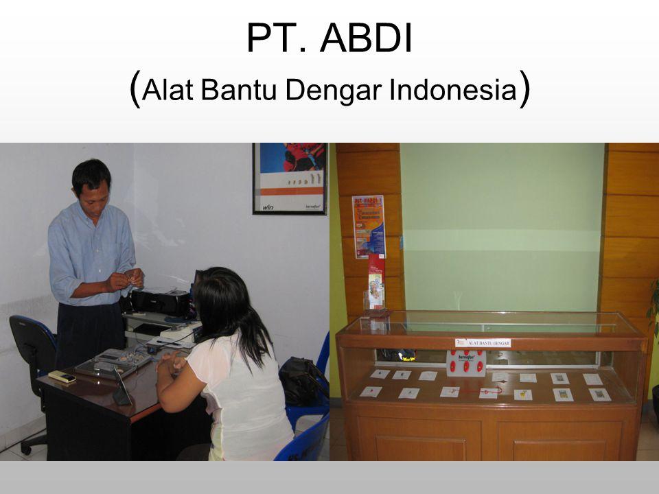 PT. ABDI (Alat Bantu Dengar Indonesia)