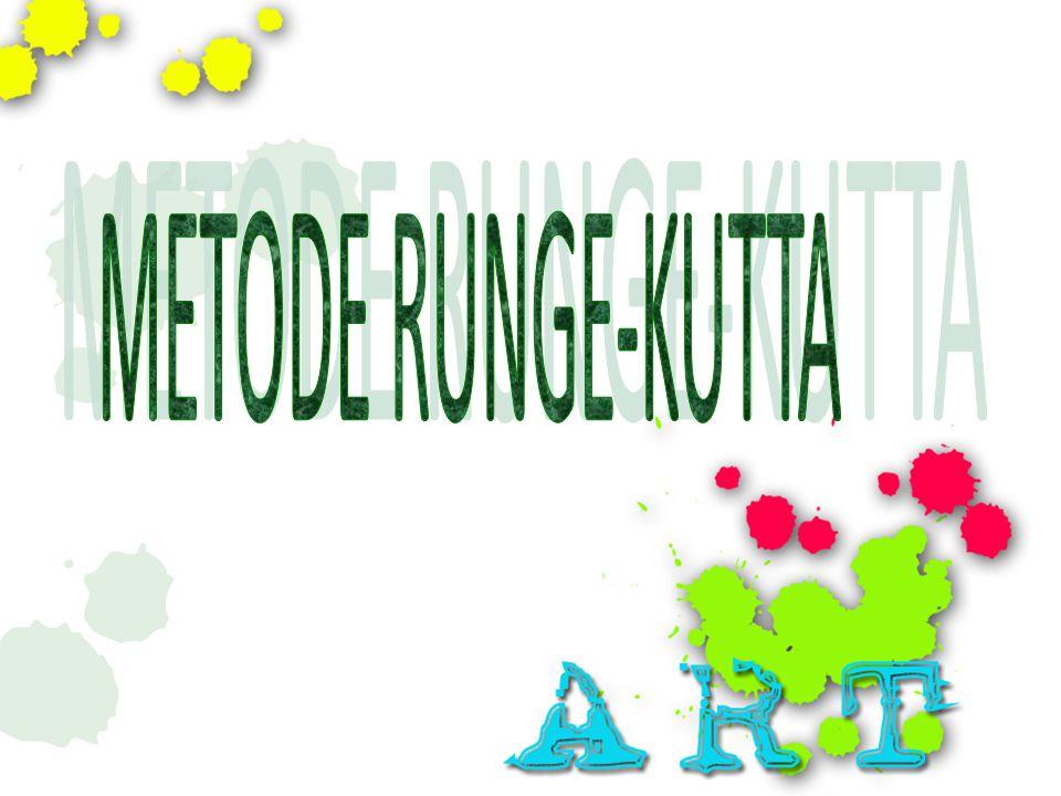 METODE RUNGE-KUTTA
