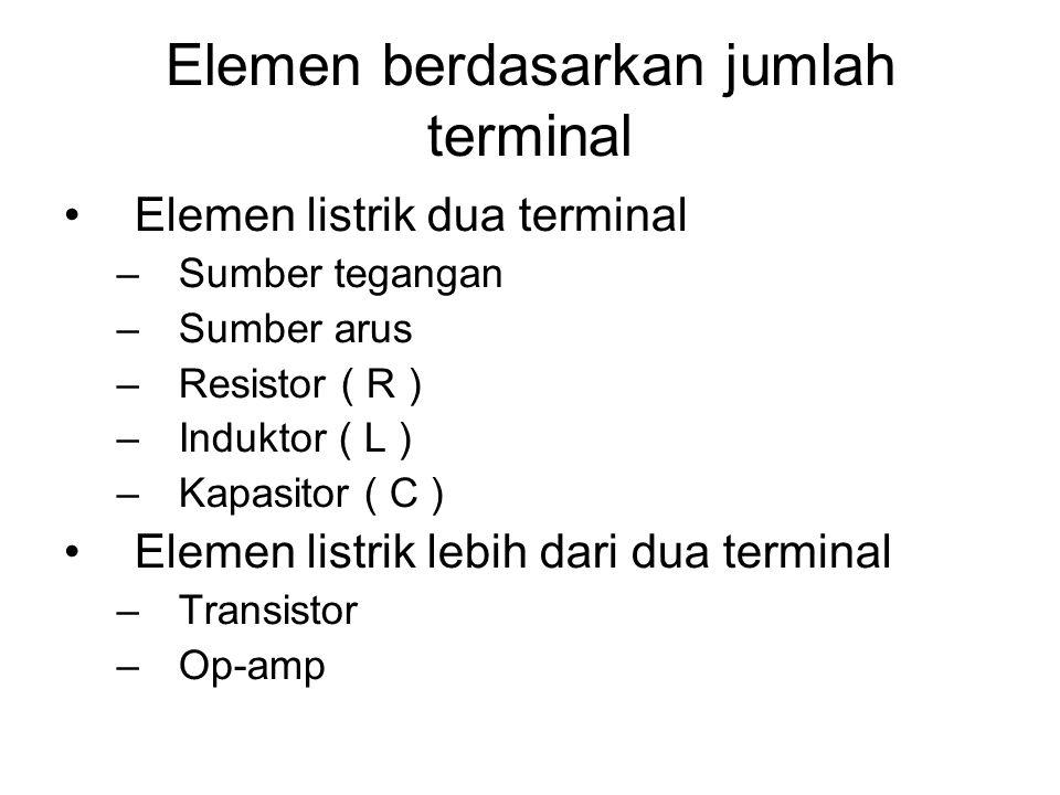 Elemen berdasarkan jumlah terminal