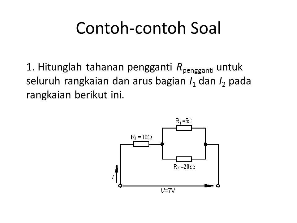 Contoh-contoh Soal 1.