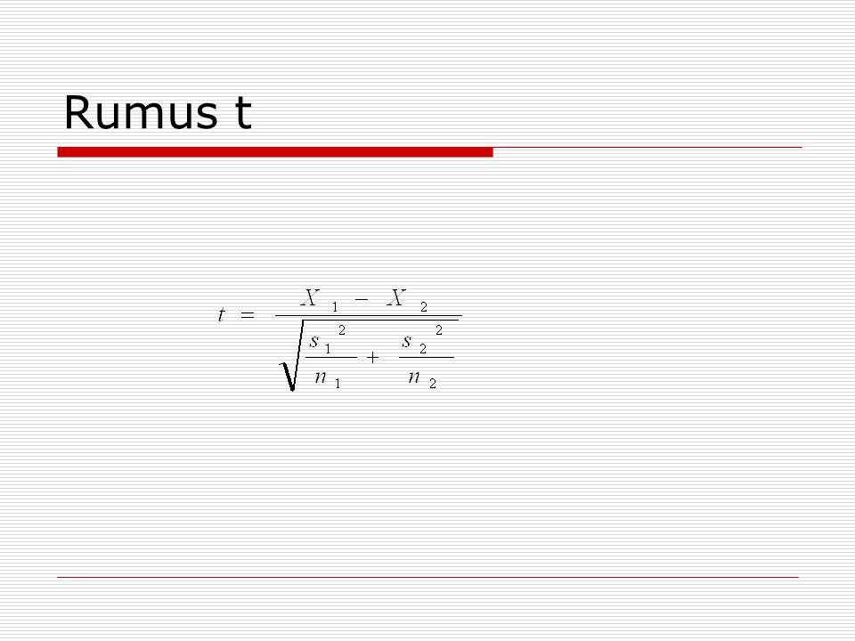 Rumus t