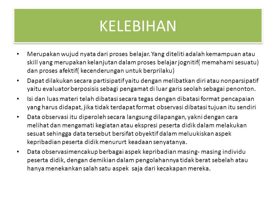 KELEBIHAN