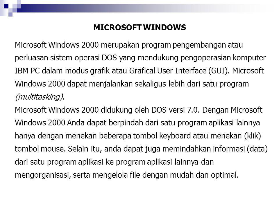 MICROSOFT WINDOWS