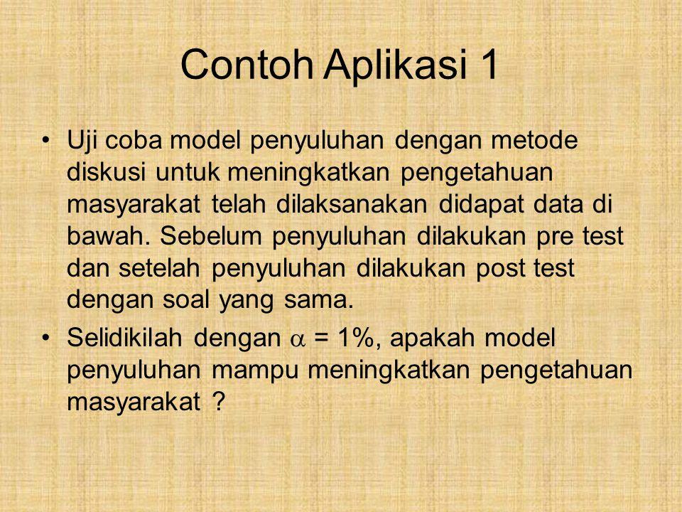 Contoh Aplikasi 1
