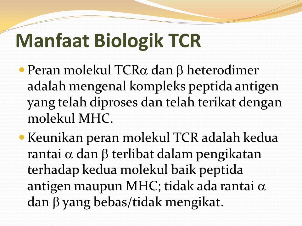 Manfaat Biologik TCR