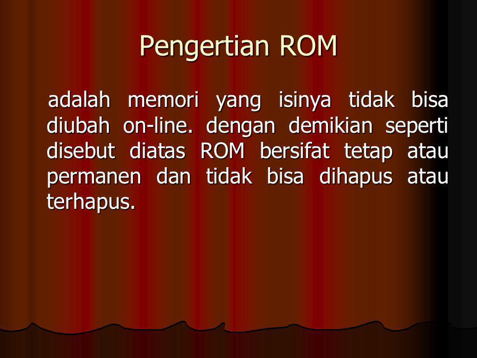 Pengertian ROM
