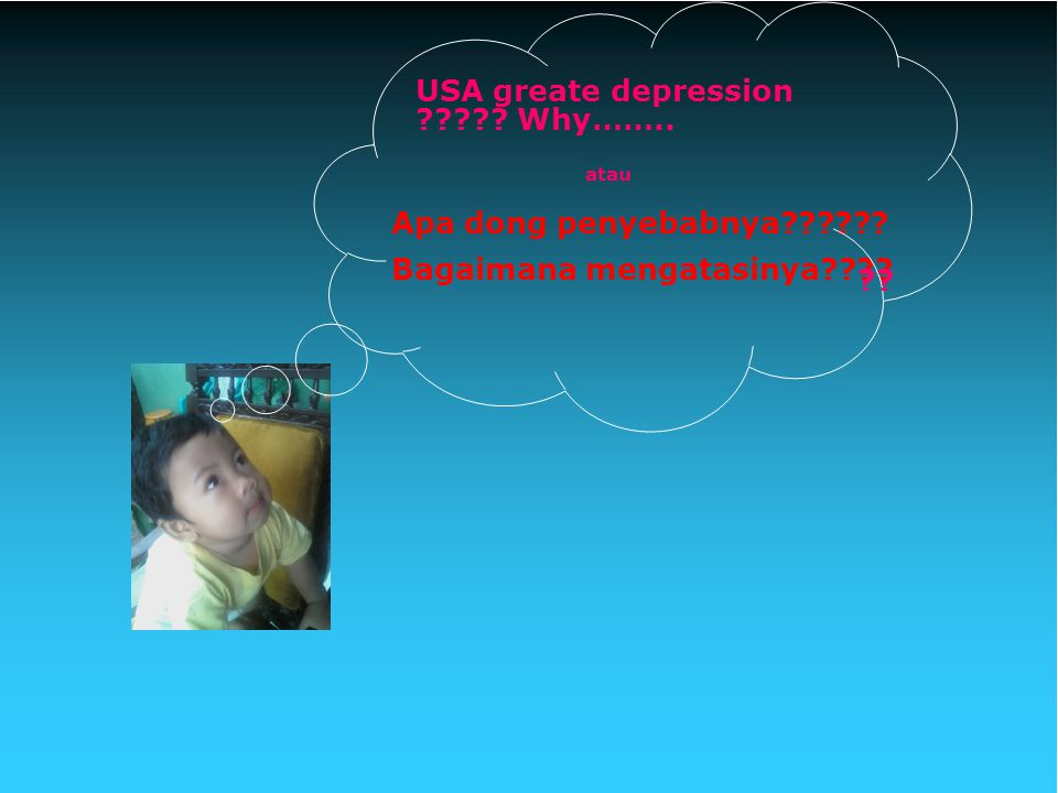 USA greate depression Why……..