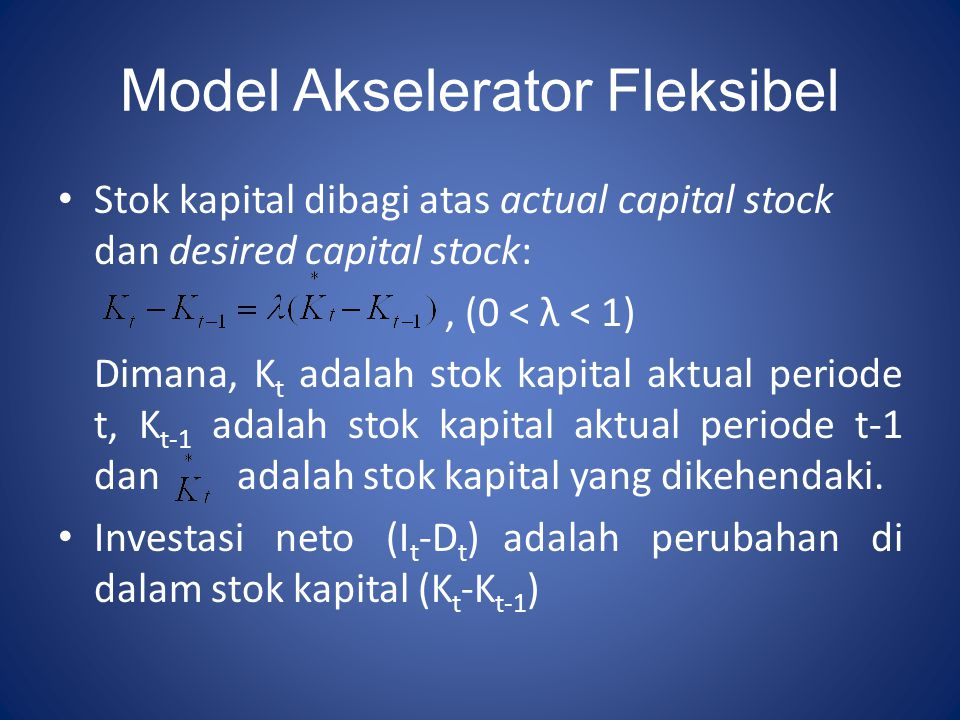 Model Akselerator Fleksibel