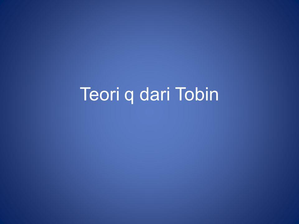 Teori q dari Tobin