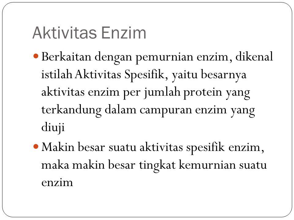 Aktivitas Enzim