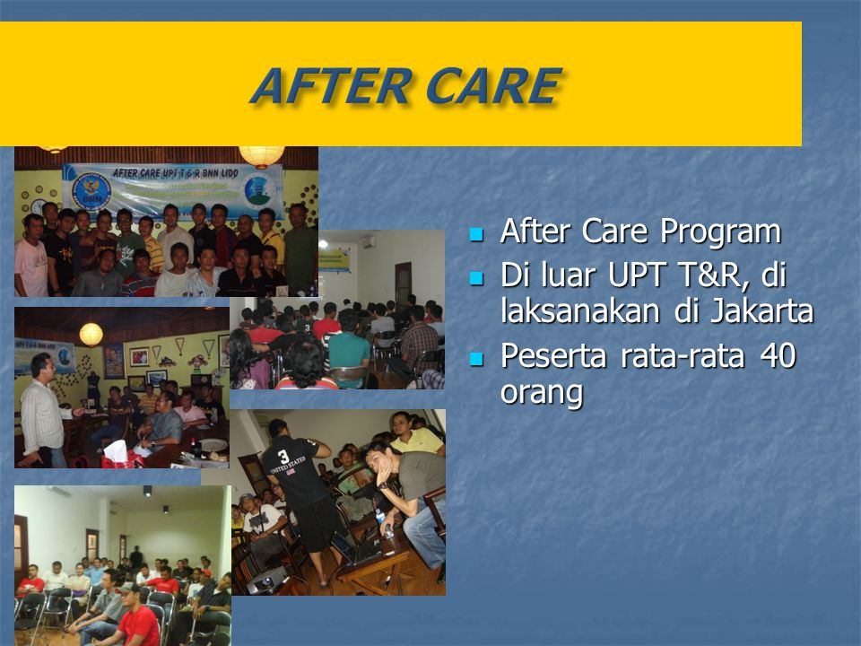 AFTER CARE After Care Program