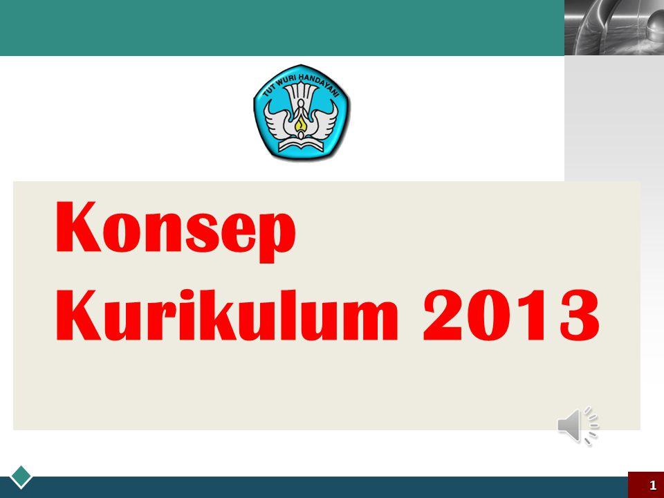 Konsep Kurikulum 2013 1