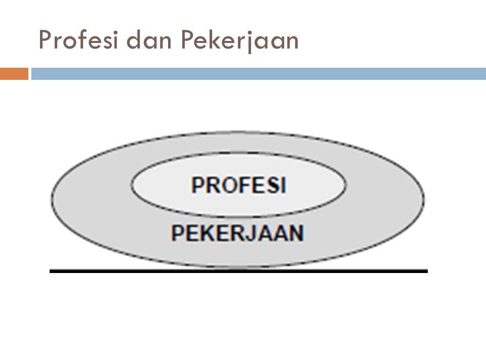 Profesi dan Pekerjaan