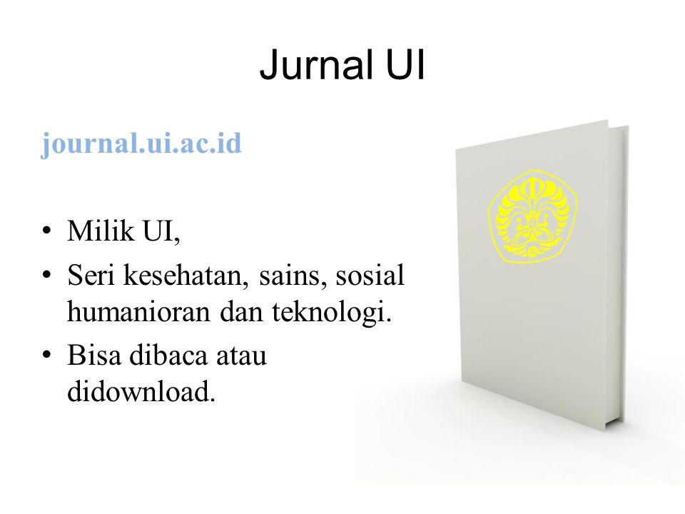 Jurnal UI journal.ui.ac.id Milik UI,