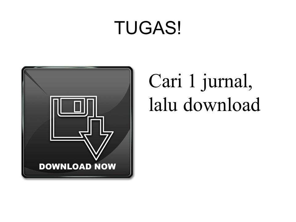 Cari 1 jurnal, lalu download