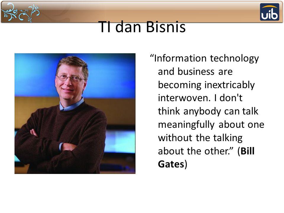 TI dan Bisnis