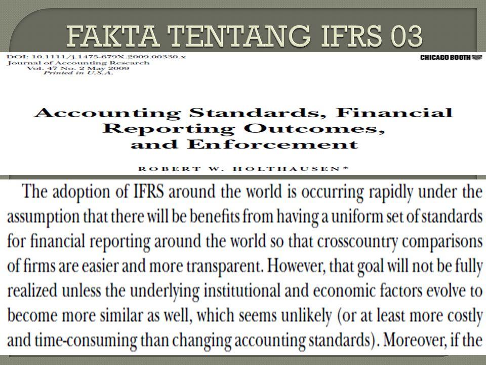 FAKTA TENTANG IFRS 03