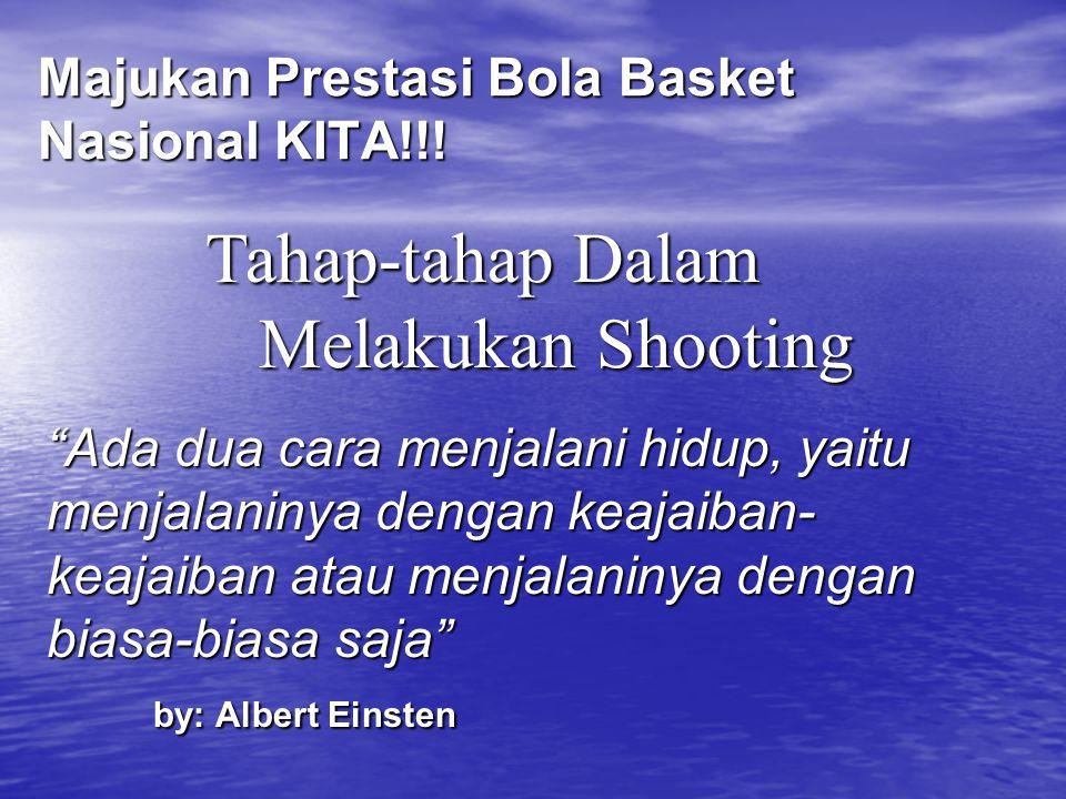 Majukan Prestasi Bola Basket Nasional KITA!!!