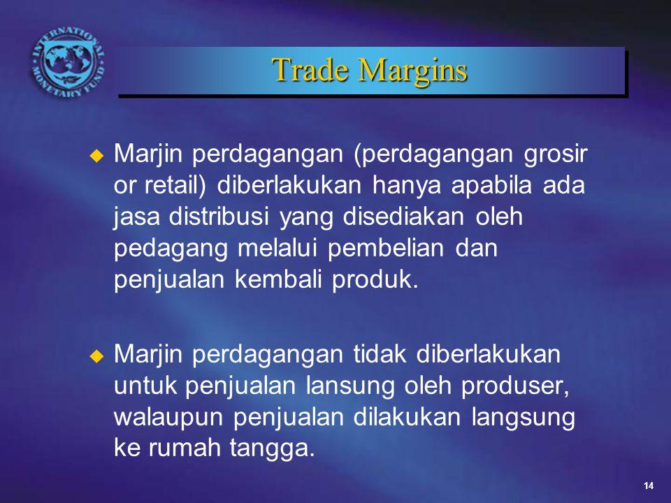 Trade Margins