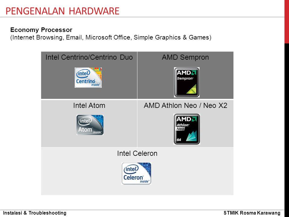 Intel Centrino/Centrino Duo