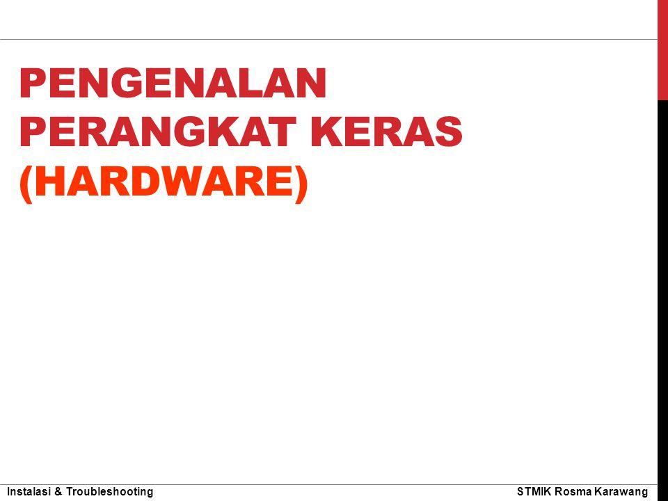 Pengenalan Perangkat Keras (Hardware)