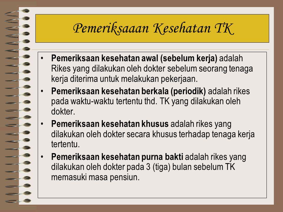 Pemeriksaaan Kesehatan TK