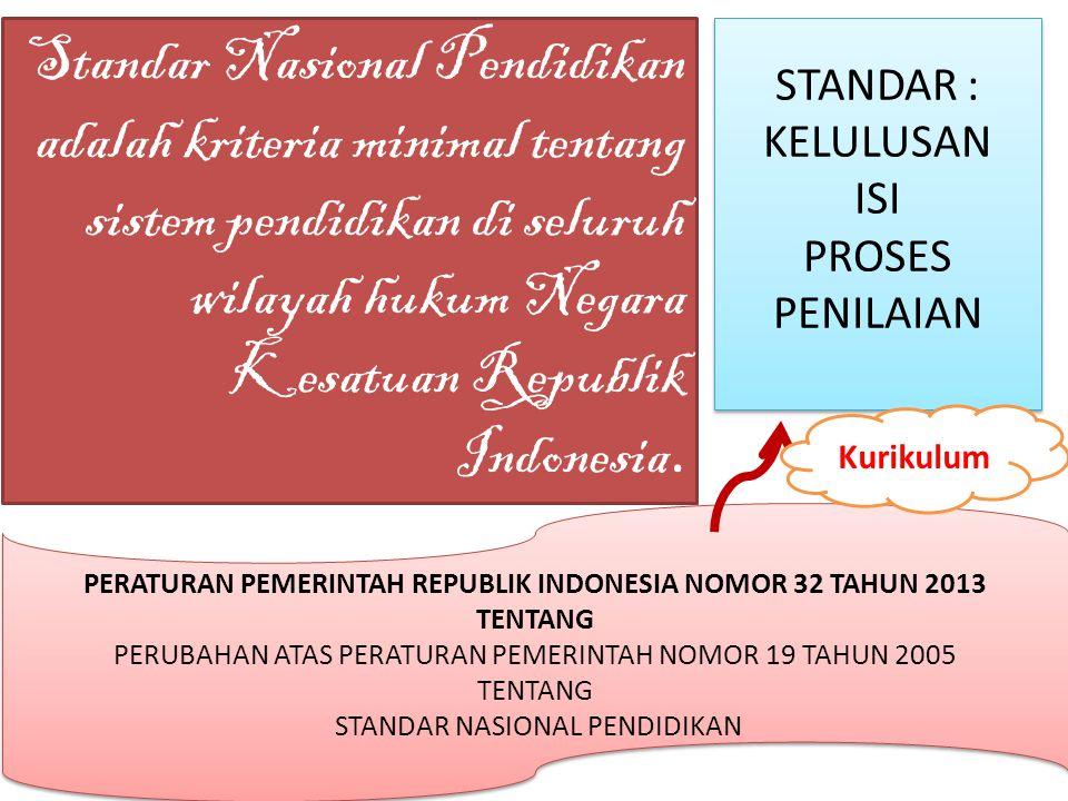 PERATURAN PEMERINTAH REPUBLIK INDONESIA NOMOR 32 TAHUN 2013