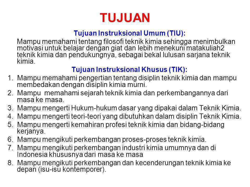 TUJUAN Tujuan Instruksional Umum (TIU):