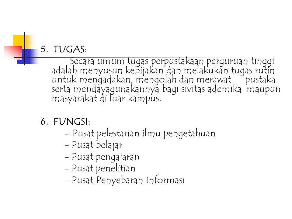 5. TUGAS: