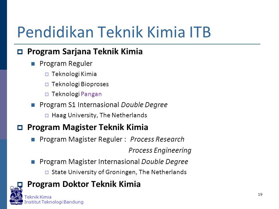 Pendidikan Teknik Kimia ITB
